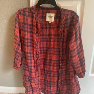 Abercrombie and Fitch flannel top